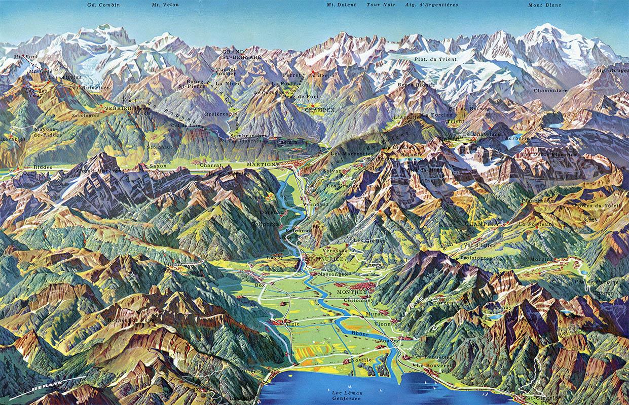 The Cartographic Panorama