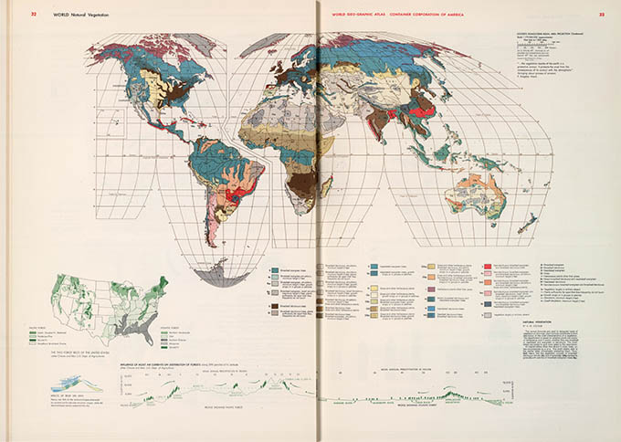 World Geo-graphical Atlas, vegetation, click for larger image