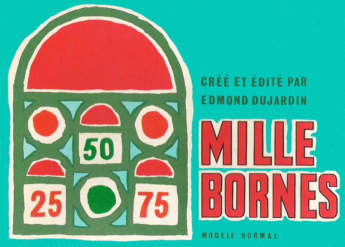Mille bornes for Dujardin 1000 bornes