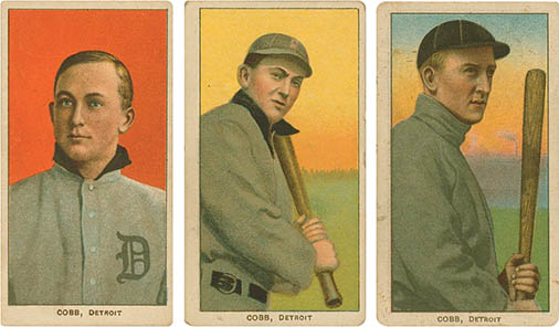 Ty Cobb, click for larger image