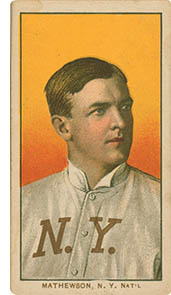 Christy Mathewson, click for larger image