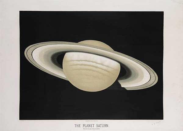 The Planet Saturn, click for larger image