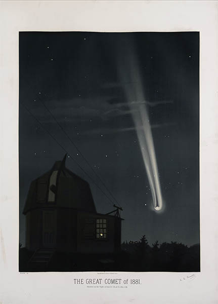 The Great Comet of 1881, click for larger image