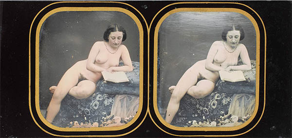 Anonymous stereo dagurreotype, click for larger image