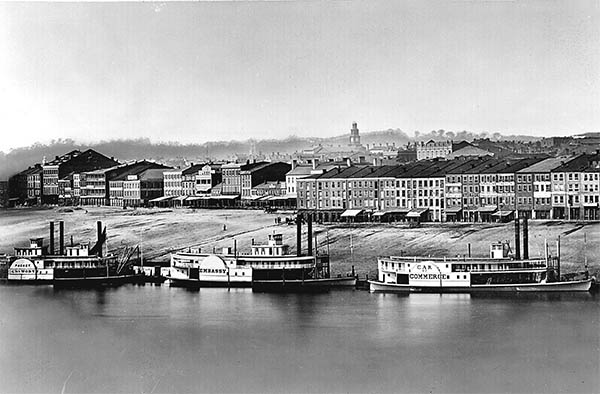 Daguerreotype View of Cincinnati, pl.2. click for larger image