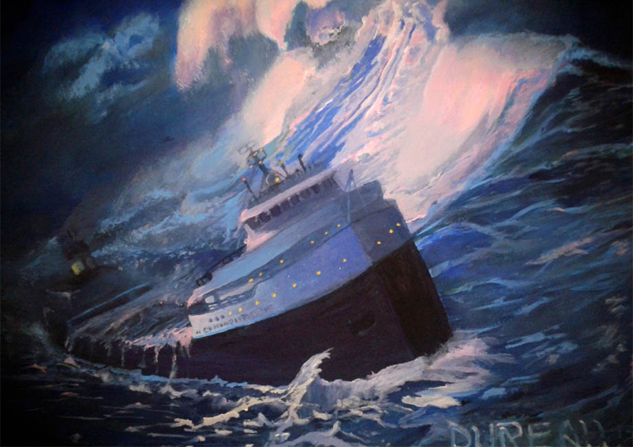 The Wreck of the Edmund Fitzgerald, click for larger image