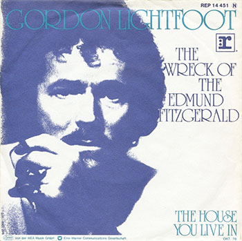 Gordon Lightfoot single, click for larger image