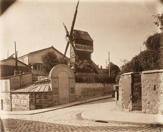 Montmartre Moulin de la Galette, click for larger image